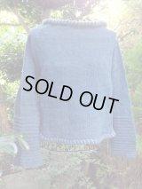 HW草木染めショートセーター