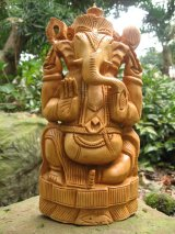 木彫り*ガネーシャ